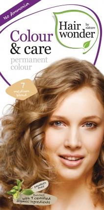 Colour & Care looduslik püsivärv, Keskmine blond 7
