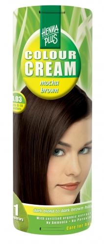 Colour Cream looduslik poolpüsivärv, Kohvipruun 4.03