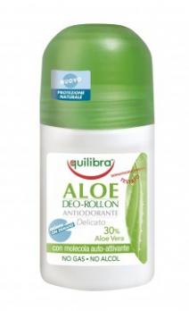 Rulldeodorant lõhnatu Equilibra Aloe